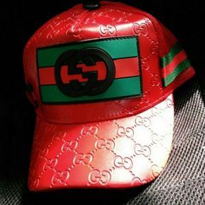 Authentic Gucci Sports Cap Hat Mens Snapback